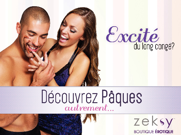 Zeksy - Catalogue Paques 2012