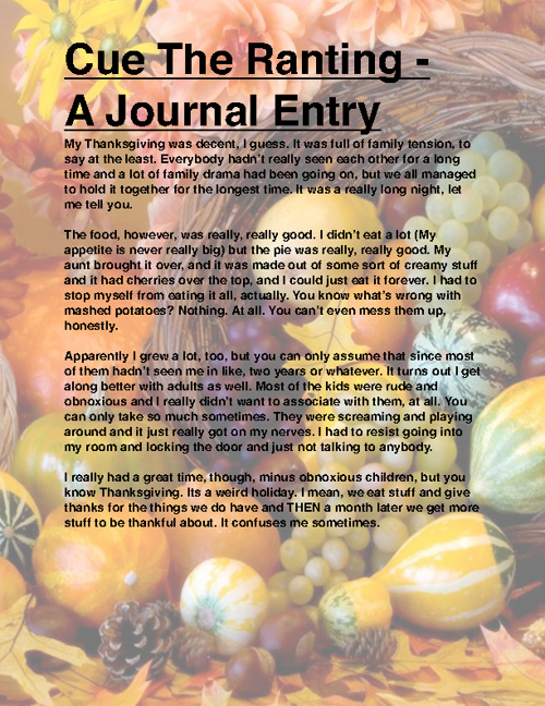 Language Arts Journal V.1