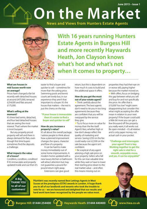 Hunters Newsletter 001 June 2015