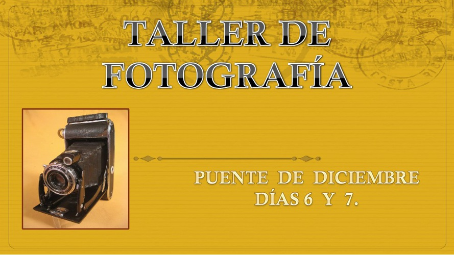 """TALLER DE FOTOGRAFÍA """"LOS ALCORNOCALES"""""""