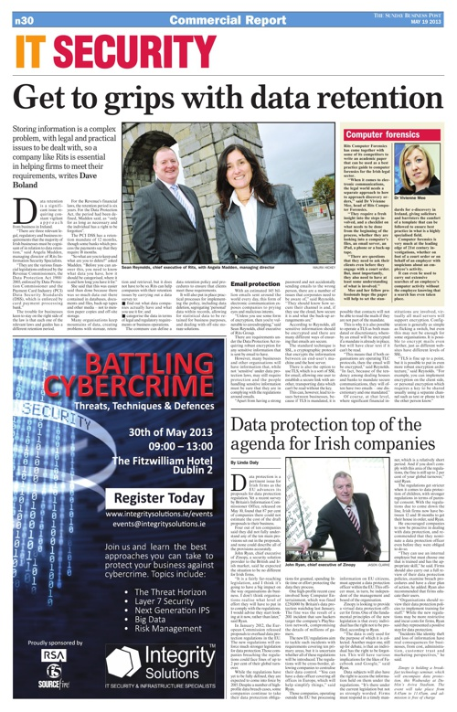 IT Security Sunday Business Post