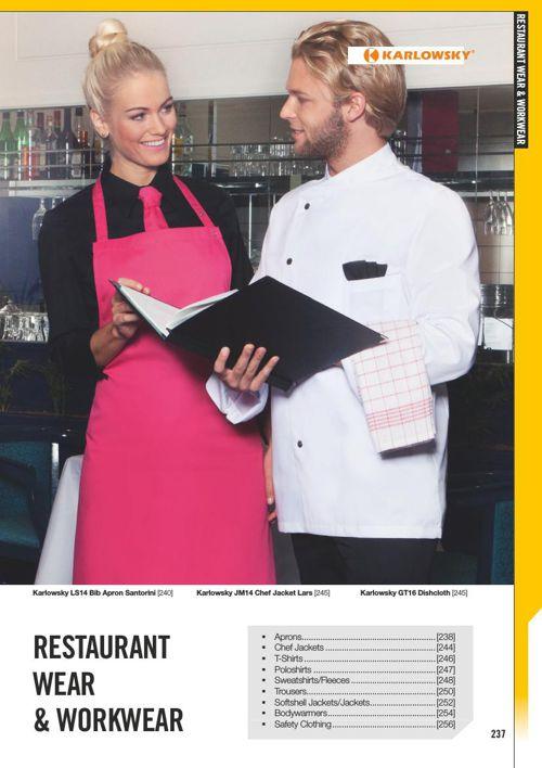 Restaurant & Arbejdstøj 2016 Profiltryk