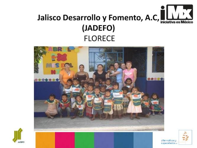 Jalisco Desarrollo y Fomento, A.C, (JADEFO)