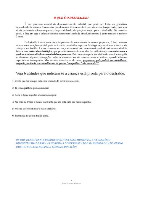 DESFRALDE - BERÇÁRIO B2X
