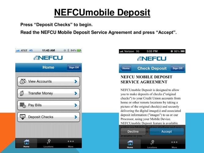 NEFCU Remote Deposit Guide