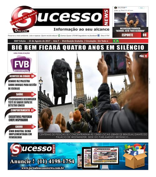 Jornal Sucesso News - Edição - 306 ONLINE