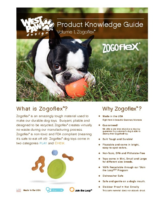 Zogoflex Knowledge Guide - West Paw Design