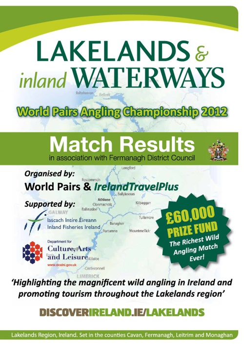 Match Results - World Pairs Angling Championship 2012