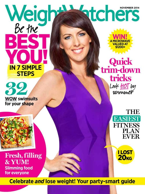 November issue of Weight Watchers magazine