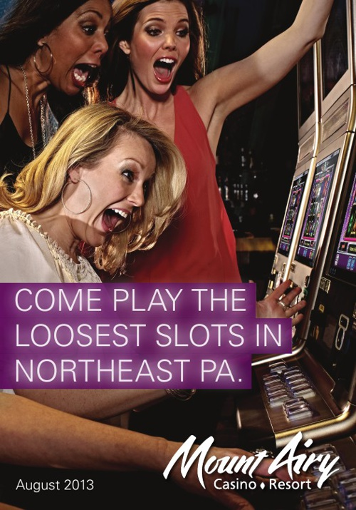 Mount Airy Casino January Mailer