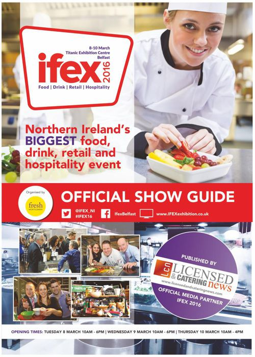 IFEX 2016 - Official Showguide