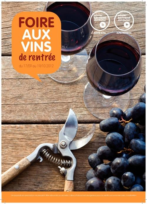 Foire aux vins 2012