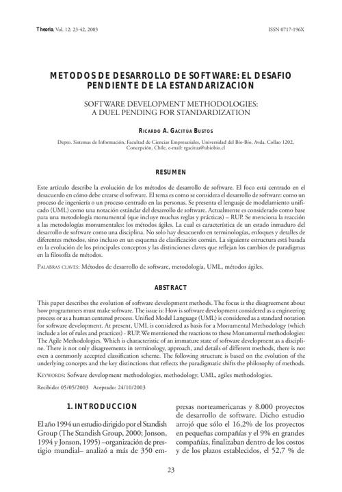 Lectura I Desarrollo I