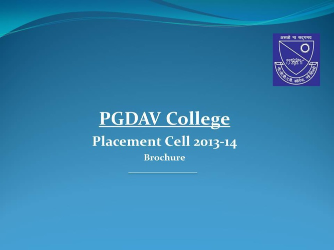 Placement Cell Brochure