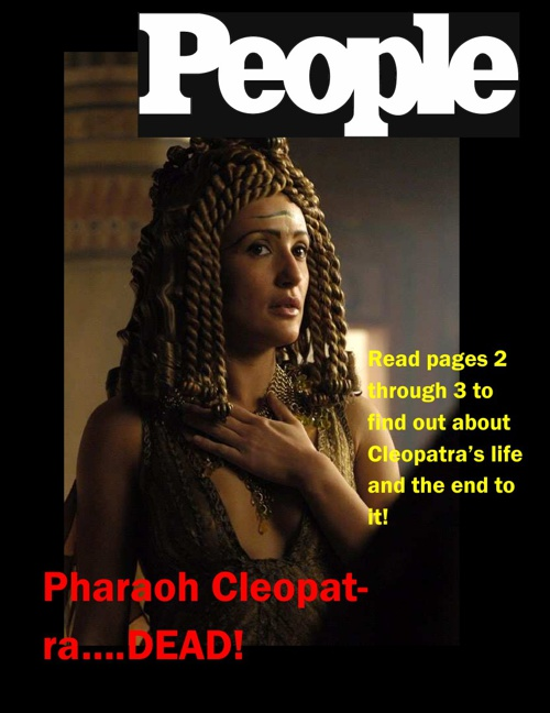 Cleopatra - Spadaro, Zoe