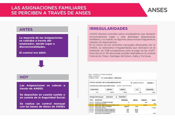 Proyecto de ley de Asignaciones Familiares