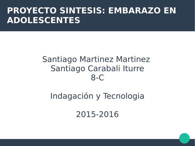 proyecto embarazo Santiago Martinez y Santiago Carabali 8-c