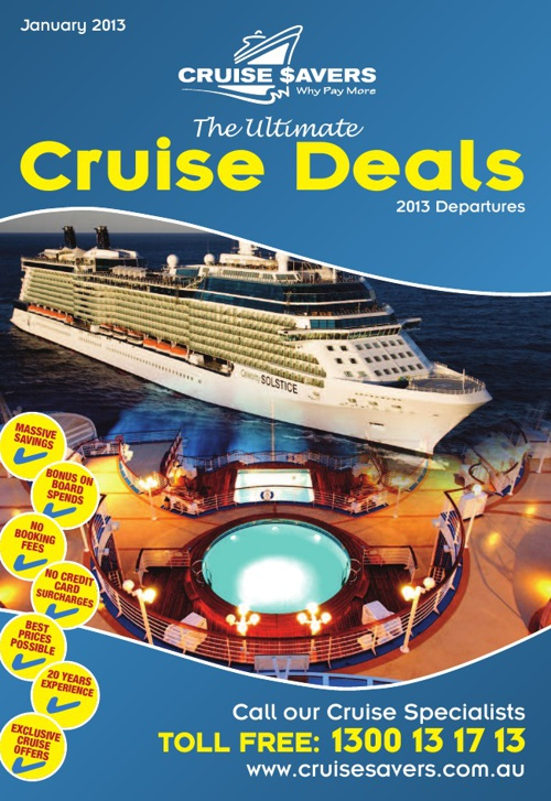 The Ultimate Cruise Deals - January