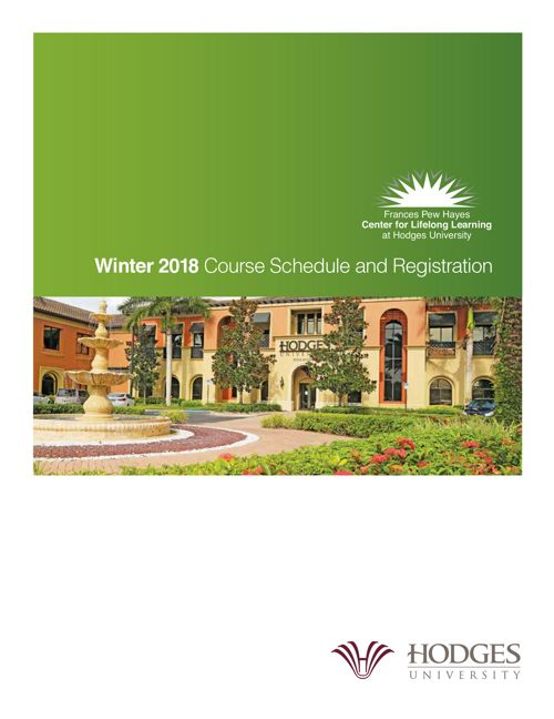 CLL Winter 2018 Session Guide