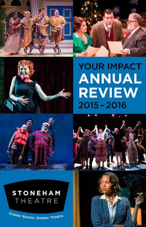Stoneham Theatre Impact Report 2016