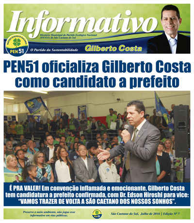 Informativo Especial - Convenção PEN51