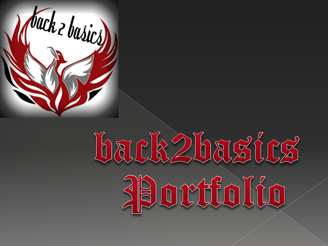 back2basics portfolio