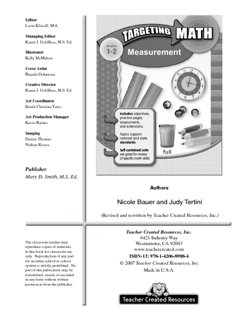 Measurement E-book