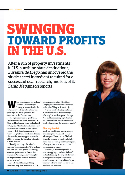 Swinging towards profits in the US