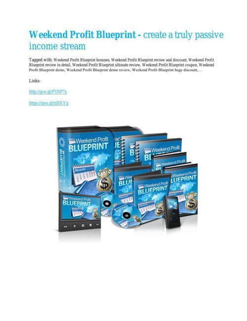 Weekend Profit Blueprint Review & HUGE $23800 Bonuses