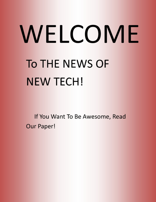 News of New Tech 1