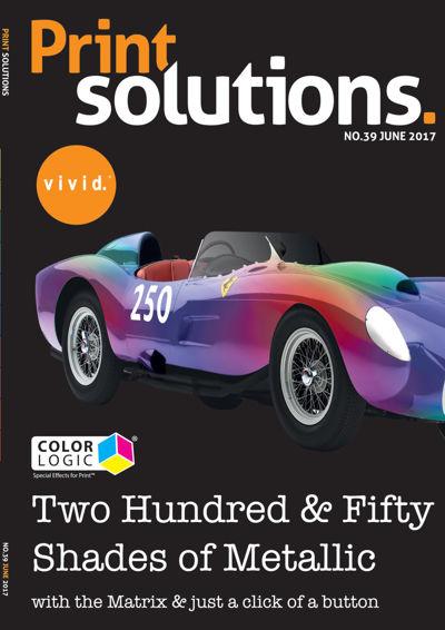 Print Solutions #39 – June 2017