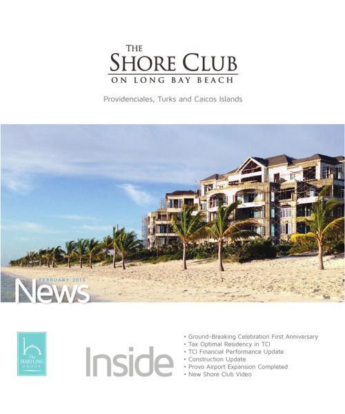 The Shore Club Newsletter | February 2015