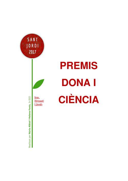 PremisDona i Ciència 2017