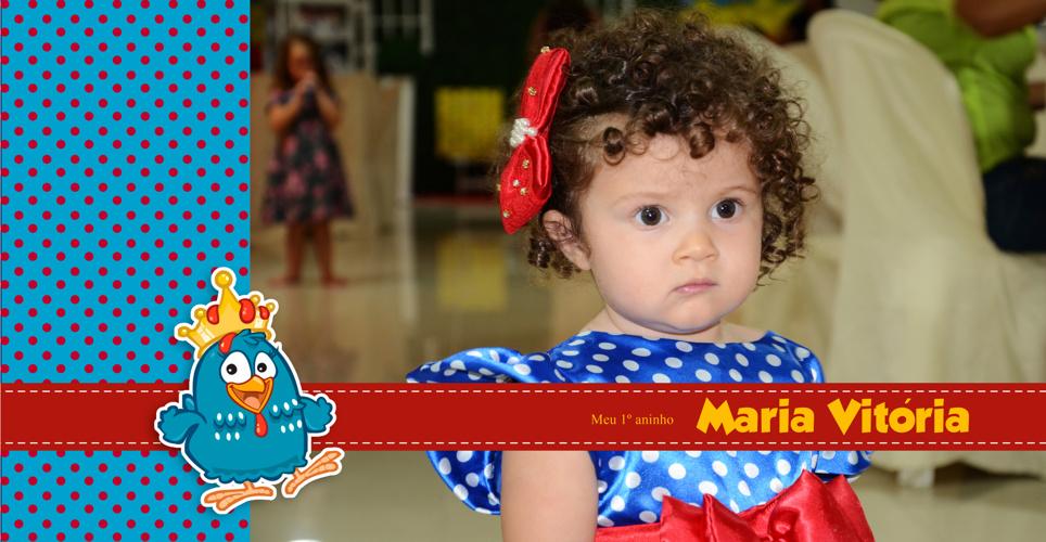 Maria Vitória - 1 aninho