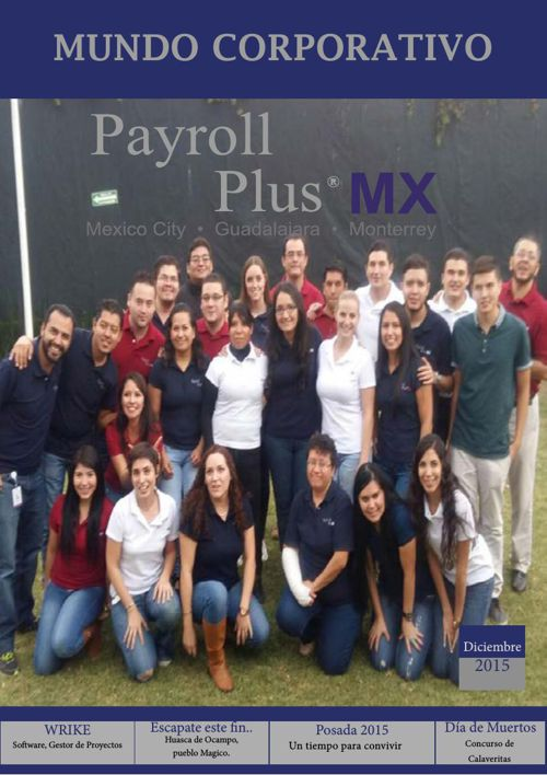 Revista Payroll Plus Dic. 2015