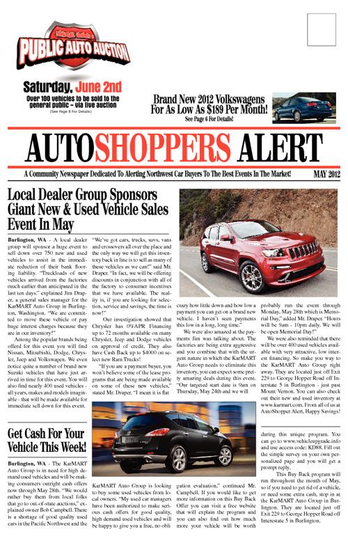 AutoShopper Alert Newspaper