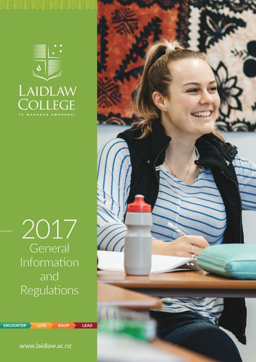 General Information and Regulations 2017