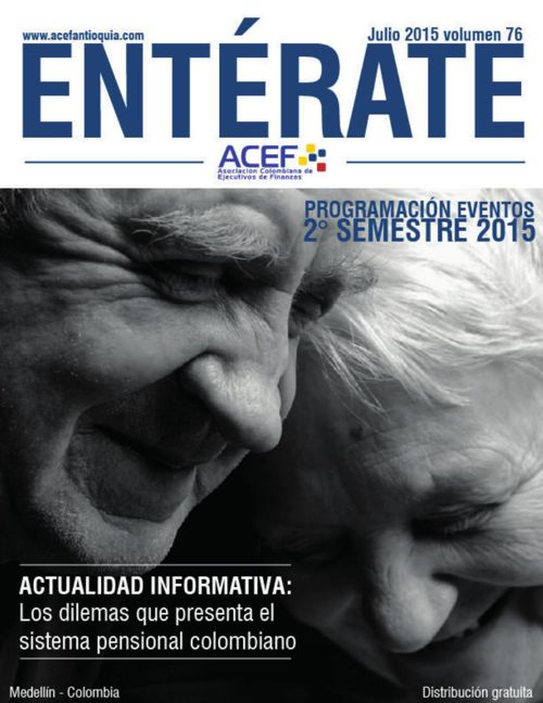 ACEF ENTÉRATE JULIO 2015