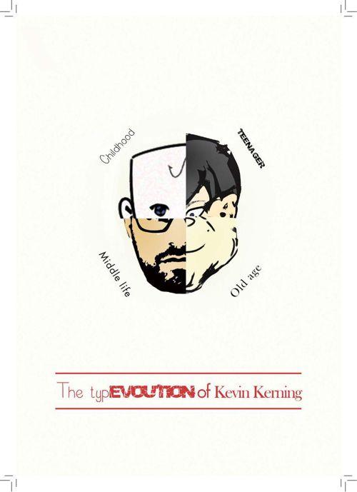 The TypEVOLUTION of Kevin Kerning