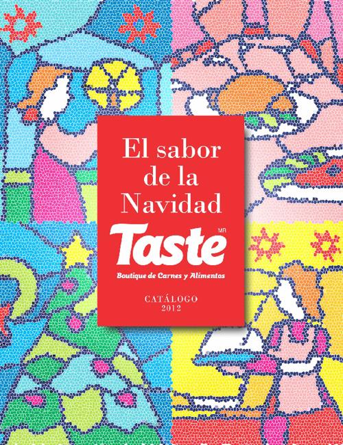 catálogo noviembre Taste
