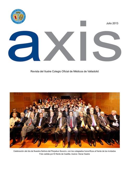 Revista AXIS del mes de Julio