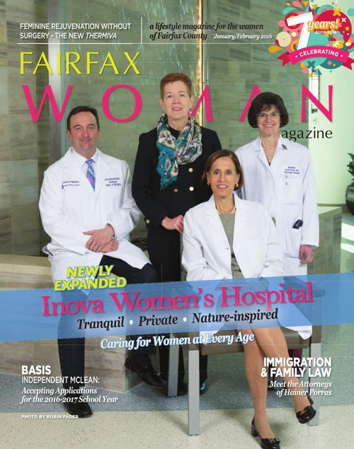 Fairfax Woman magazine - January/February 2016
