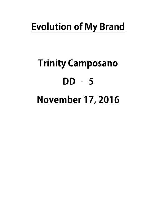 Brand Evo