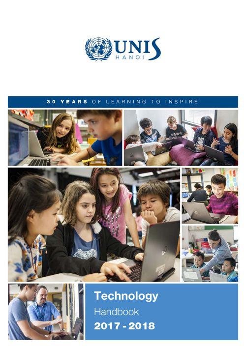 UNIS Hanoi Technology Handbook 2017-2018