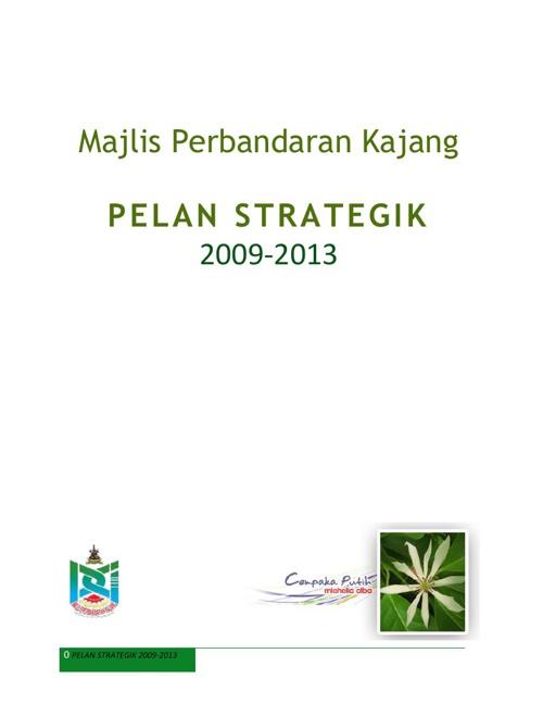 Pelan Strategik MPKj