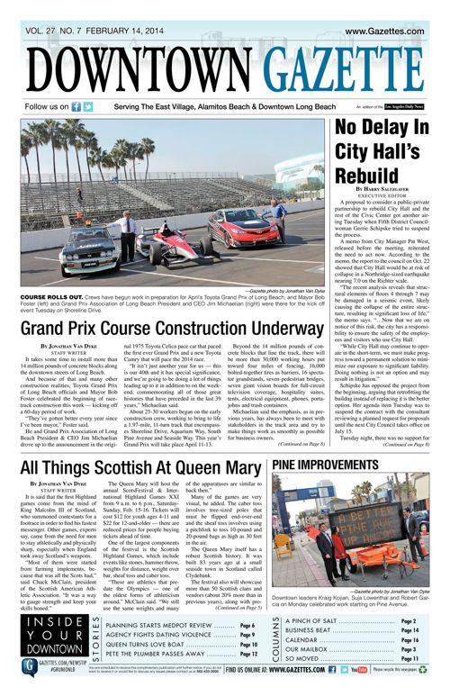 Downtown Gazette  |  February 14, 2014