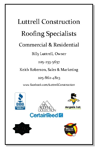 Luttrell Construction Roofing Specialists