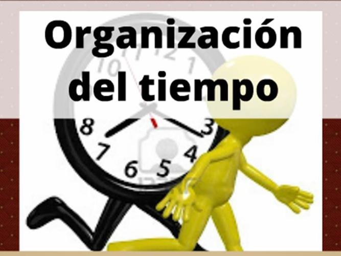 ORGANIZACIÓN DE MI TIEMPO