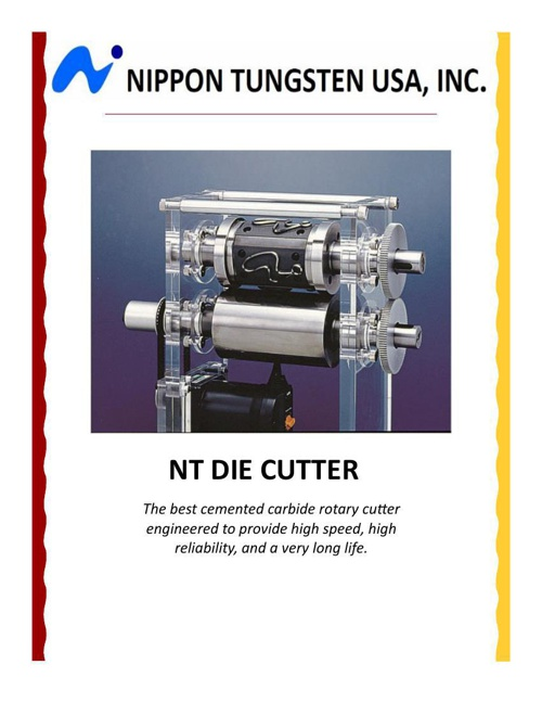 NT Die Cutter - English