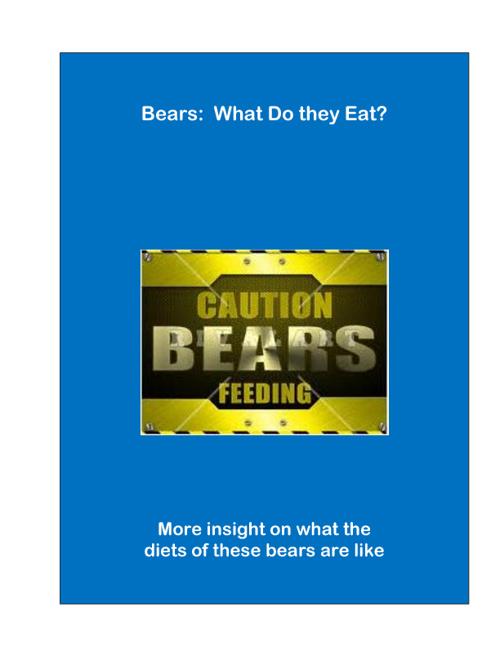 Bears Food